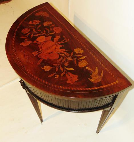 Dutch Mahogany & Marquetry Side Table (1 of 11)