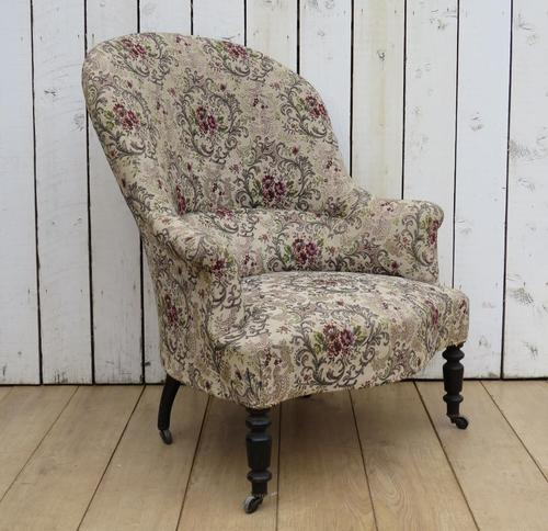Antique Napoleon III Armchair (1 of 8)