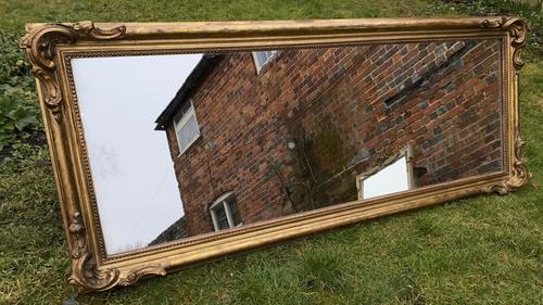 Large Gilt Landscape Mirror (1 of 6)