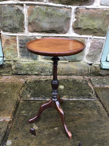 Antique Mahogany Tripod Wine Table (1 of 5)