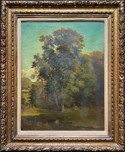 Antoine Chintreuil Fine 19th Century French Barbizon Landscape Oil Painting (1 of 13)