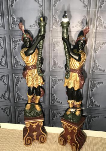 Pair of Blackamoor Figures (1 of 18)