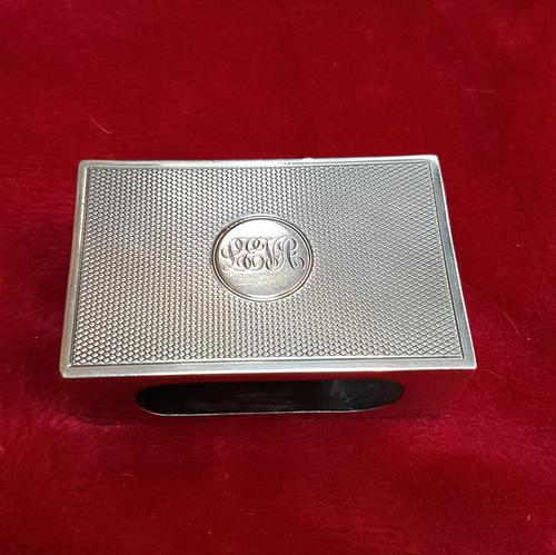 Sterling Silver Matchbox Cover (1 of 3)