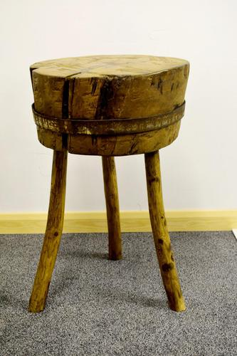 French Butchers Chopping Block (1 of 12)