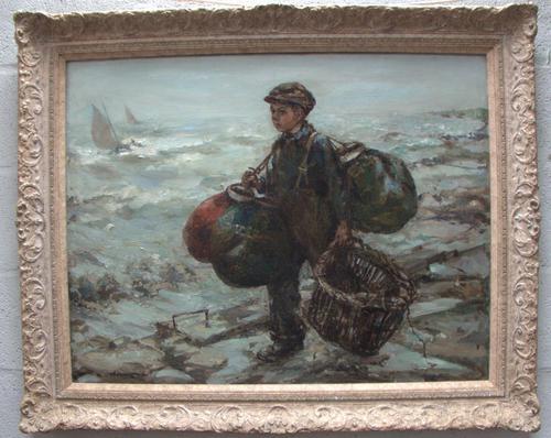 Oil Painting Homeward Bound (1 of 1)