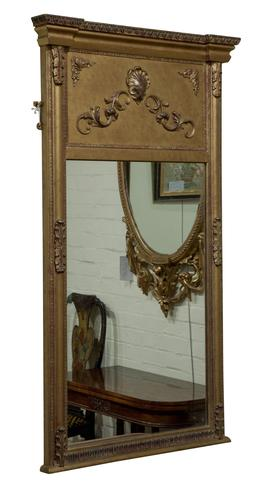 Regency Style Gilt Gesso Pier Mirror (1 of 5)