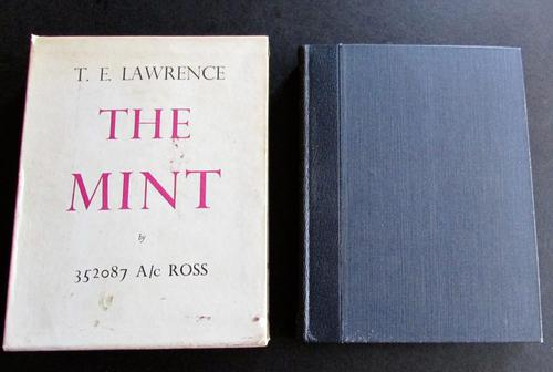 1955 The Mint by T. E. Lawrence, Limited Edition (1 of 4)