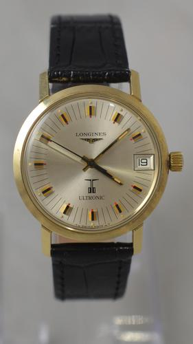 1973 Longines Ultronic Wristwatch with Box & Papers (1 of 8)