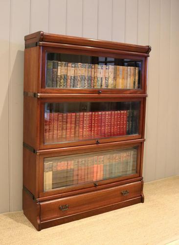 Mahogany Globe Wernicke Bookcase (1 of 11)