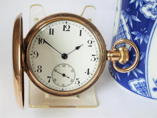 Swiss 1920s Full Hunter Pocket Watch (1 of 6)