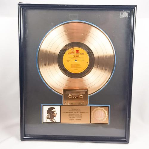Original Crash Landing Jimi Hendrix Gold Disc Reprise Records (1 of 6)