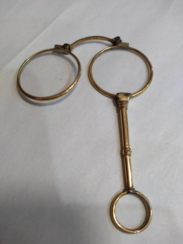 Victorian rolled gold spring loaded Longnettes (1 of 4)