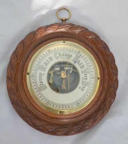 Edwardian Aneroid Barometer (1 of 3)