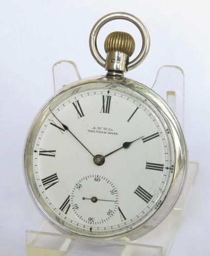 Antique Waltham Silver Pocket Watch (1 of 5)