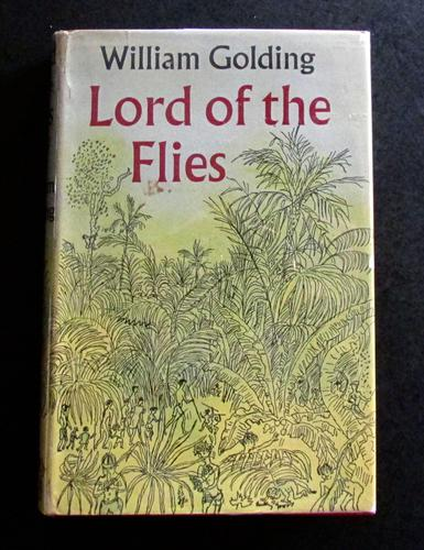1957 Lord of the Flies by William Golding with Original Jacket - 1st Edition, 4th Impression (1 of 5)