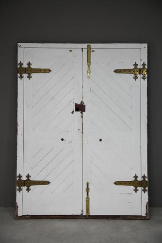 Pair Large Sapele Hardwood Exterior Front Doors (1 of 12)