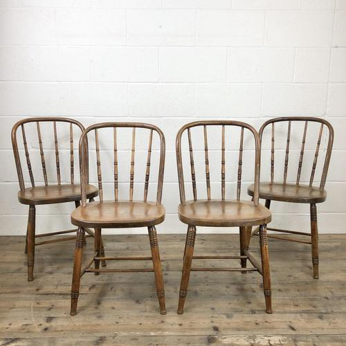 Set of Four Antique Bentwood Chairs (1 of 8)