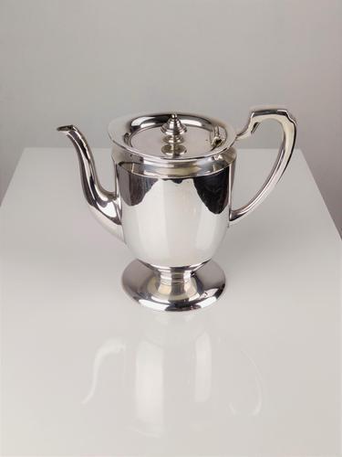 Walker & Hall Silver Plate Coffee Pot (1 of 6)