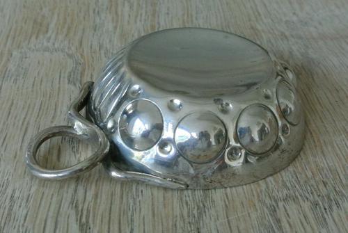 French Silver Wine Taster by Marc Parrod, Minerva .950 Std Mark Dijon c.1905 (1 of 7)