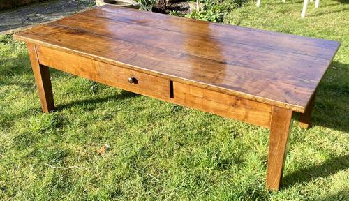French Cherrywood Coffee Table (1 of 5)
