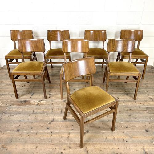 Set of Eight Mid Century Dining Chairs – Ben of Frome Style (1 of 8)