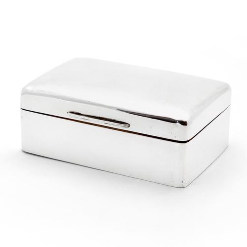 Simple Style Harrods Silver Cedar Lined Cigarette or Cigar Box (1 of 6)