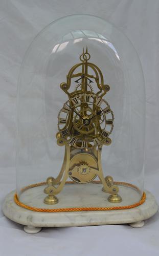 English  Victorian Skeleton Clock (1 of 5)