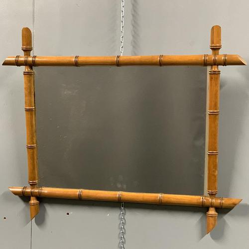 French faux bamboo mirror (1 of 3)