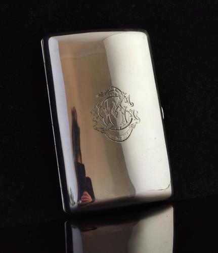 Antique Silver Cigar Case, Edwardian, Sampson & Mordan (1 of 13)