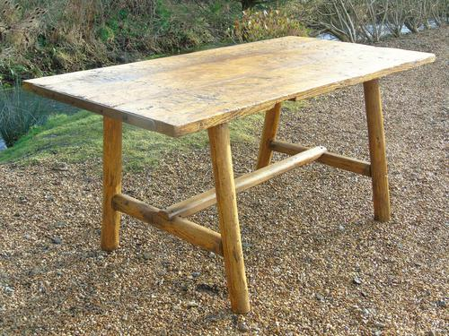 Antique Farmhouse Rustic / Industrial Table (1 of 9)