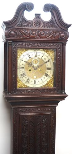 Early 18th Century Longcase Clock Fine English Oak  James Smith Grandfather Clock Brass Dial c.1720 (1 of 10)