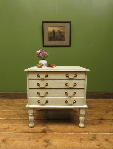 Small Gustavian Style Painted Chest, Crafting Chest of Drawers (1 of 15)