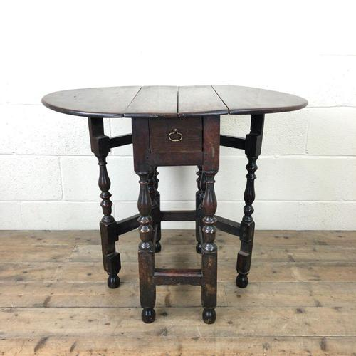 Small 18th Century Gateleg Table (1 of 9)