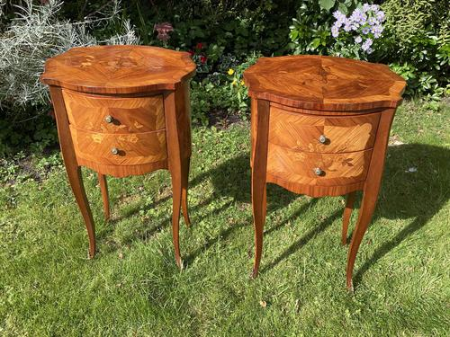 Pair of Kingwood bedside tables (1 of 5)