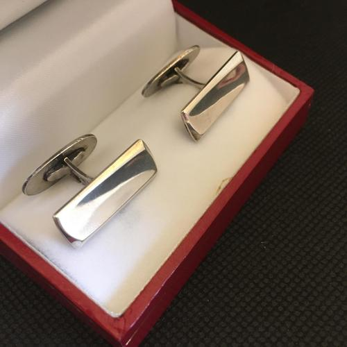 Danish Sterling Silver Cufflinks. 1960. By Holger Fredericias (1 of 4)