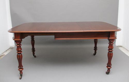 19th Century mahogany dining table (1 of 7)