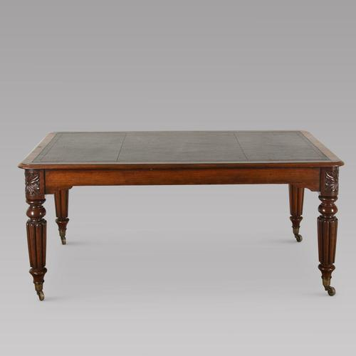 English 19th Century Library Table (1 of 4)
