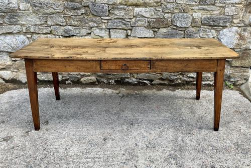 Large French Sycamore & Elm Farmhouse Table (1 of 21)