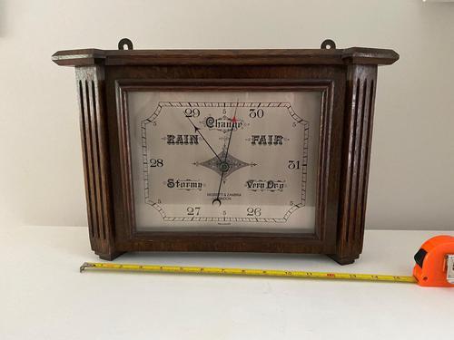 Negretti & Zambra Large Public Display Barometer (1 of 3)