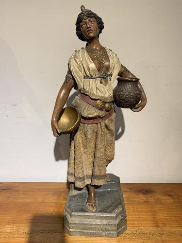 Large terracotta figure (1 of 5)