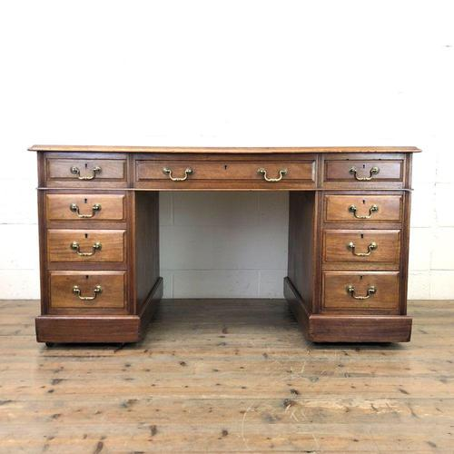 Antique Kneehole Desk (1 of 12)