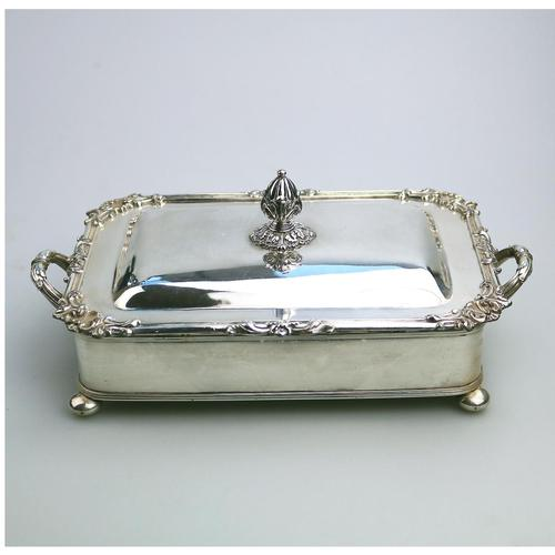 Scarce Regency Silver Old Sheffield Plate Cheese / Bacon Dish c.1820 (1 of 11)