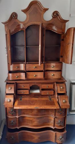 Early 1900's Wood Veneer Bureau (1 of 2)