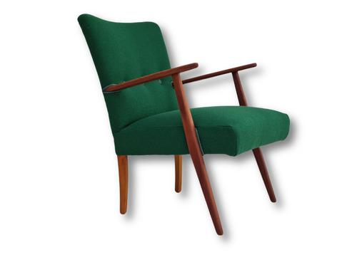 Danish Design, Completely Renovated Armchairs 1970s, Kvadrat Wool, Teak (1 of 15)