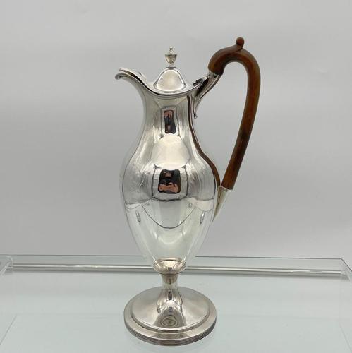 18th Century Antique George III Sterling Silver Coffee Jug London 1791 John Robins (1 of 9)