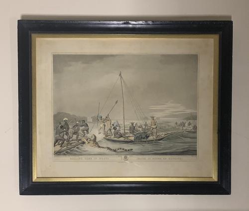 Georgian framed aquatint after Samuel Howitt (1 of 9)