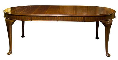 Mahogany Oval Dining Table c1900 (1 of 5)