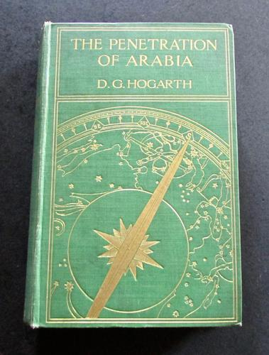 1904 1st Edition - The Penetration of Arabia by David George Hogarth (1 of 5)