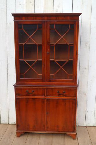 Glazed Reproduction Bookcase (1 of 6)