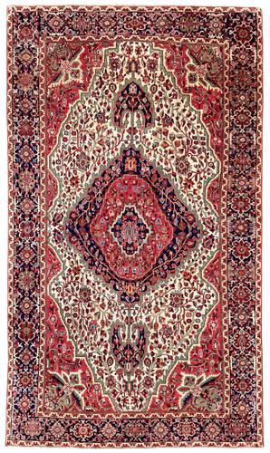 Antique Ferahan Rug (1 of 9)